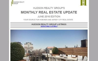 Hudson Realty Group Update – June 2016 Edition  |  Hoboken and Jersey City Real Estate