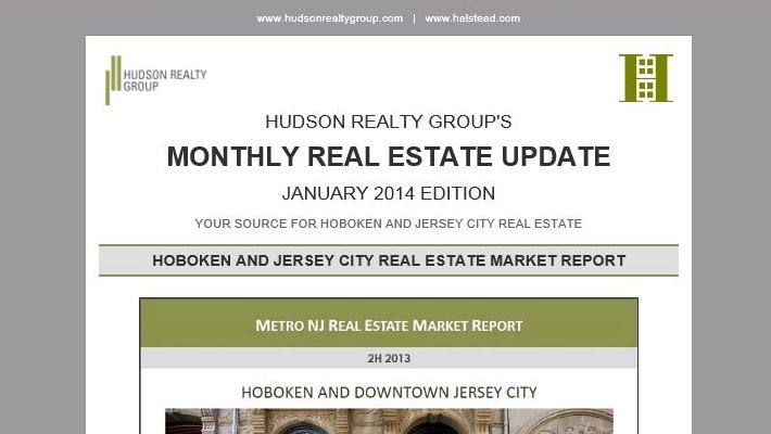 Hudson Realty Group Monthly Update – January 2014 Edition
