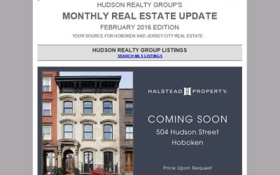Hudson Realty Group Update – February 2016 Edition  |  Hoboken and Jersey City Real Estate