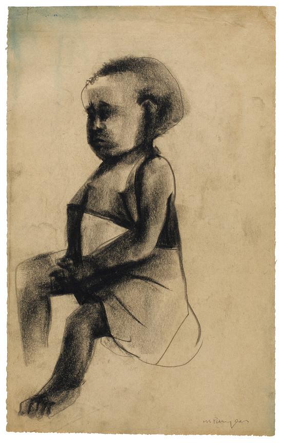 2. Puryear_Untitled_Sitting-Girl-1964-66