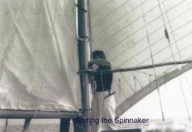Setting the Spinnaker