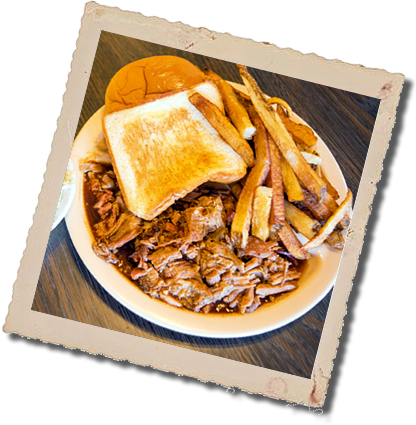 Picture of Pork Plate with Texas Toast