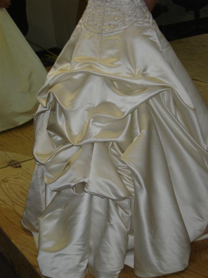 Wedding Dress Bustle Hudson Valley Ceremonies