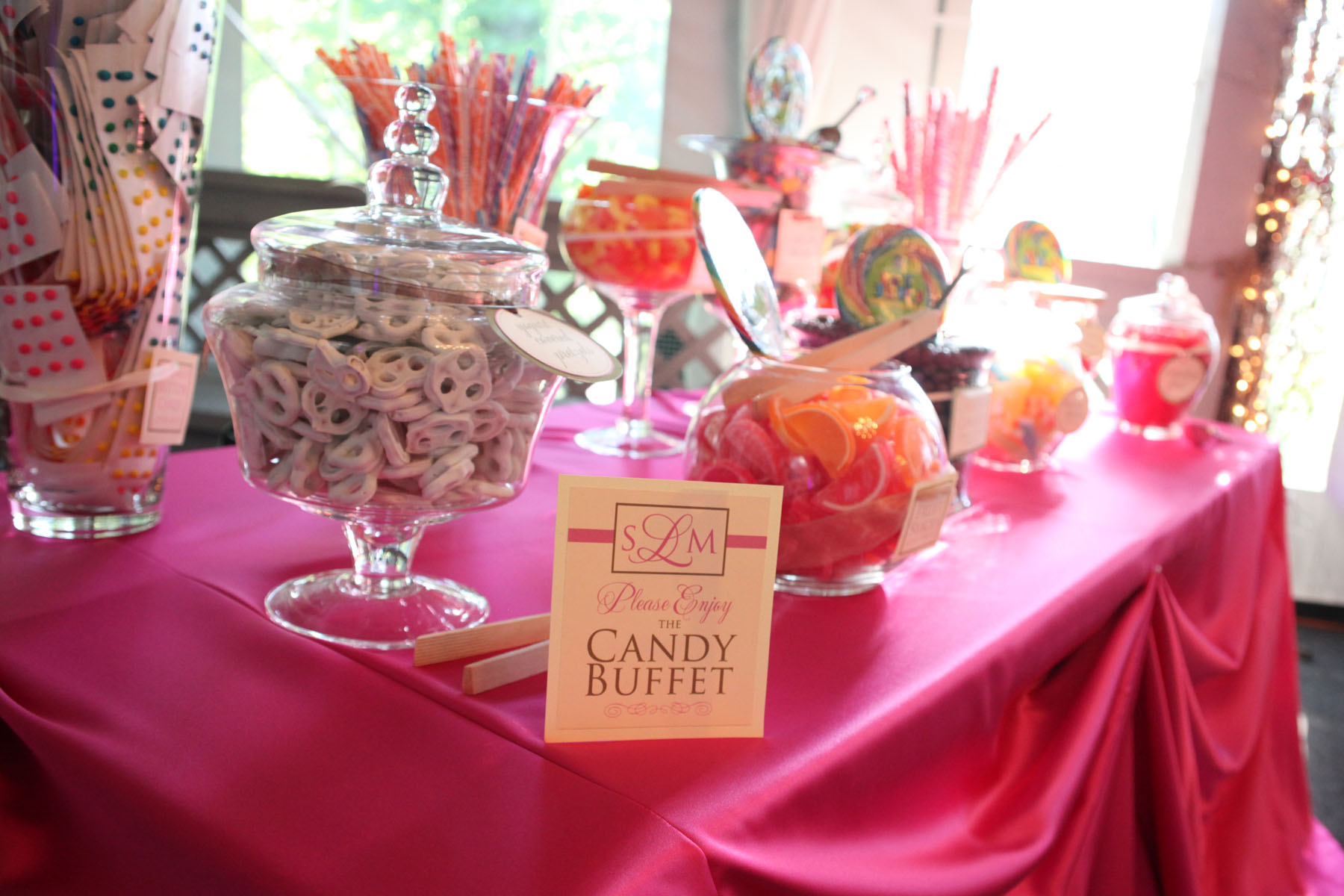 Terrific Wedding Candy Buffet Hudson Valley Ceremonies Home Interior And Landscaping Eliaenasavecom