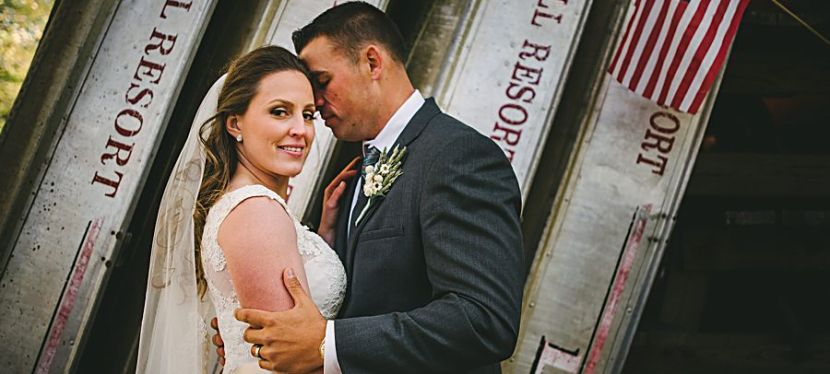 Sarah and Travis, Sunny Hill Resort in the Catskills
