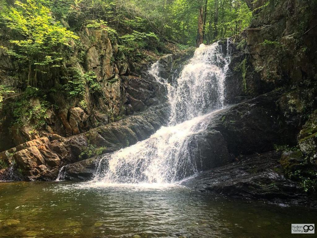waterfall in the Hudson Valley