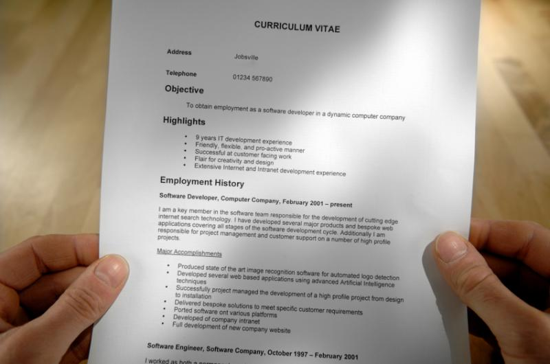 Show Me Some Resume Examples. Resume Format Pdf Show Me A Example