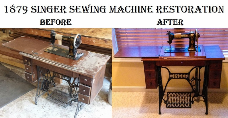 1879 singer sewing machine
