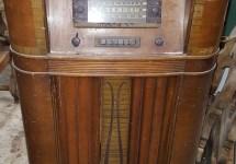 Radio Wine Cabinet Repurposing 15