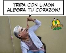 Díaz-Canel comiendo tripa