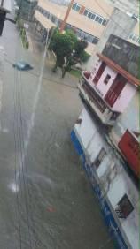 Impactantes imágenes de La Habana bajo agua tras una tormenta local (2)