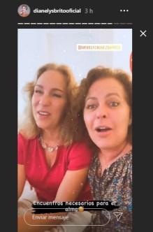 Actrices cubanas Amarilys Núñez y Dianelys Brito se reencuentran después de años 1