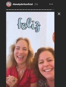 Actrices cubanas Amarilys Núñez y Dianelys Brito se reencuentran después de años