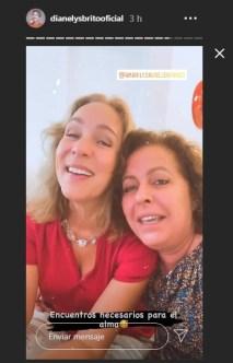Actrices cubanas Amarilys Núñez y Dianelys Brito se reencuentran después de años 2