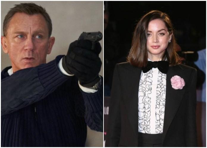 """Ana de Armas y James Bond retrasan su película """"No time to die"""""""