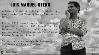 Quiénes son los activistas en huelga de hambre del Movimiento San Isidro (5)