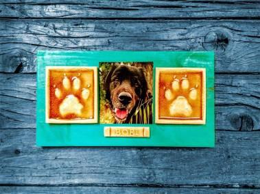 Las huellas de tu perro en cerámica