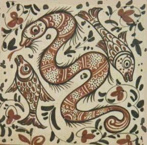socarrat serpiente peces