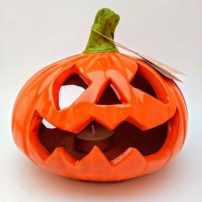 Calabaza Halloween ceramica