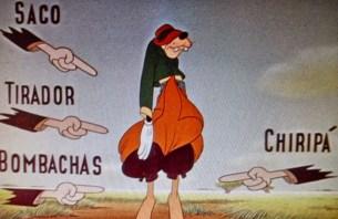 Película animada donde podemos ver a Goofy utilizando las vestimentas de los Gauchos.