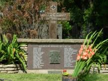 Tumba del Capitán en el Cementerio Alemán de la Chacarita en Buenos Aires