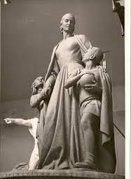 Monumento a Evita, en su tamaño original
