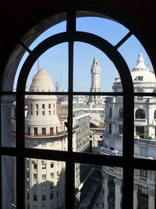 Desde su interior se puede observar todas las cúpulas de la ciudad