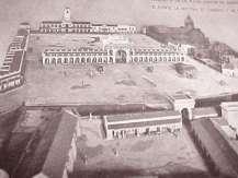 Vista de la Recova desde el Fuerte de la Ciudad.
