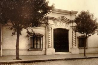 Casa de Ricardo Rojas al momento de su inauguración