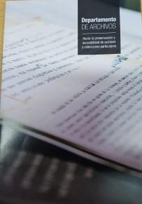 folleto Dto. Archivos. BNMM