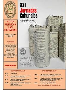 Cartel de las Jornadas Culturales Cortegana.