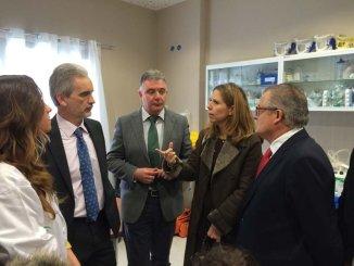 Aquilino Alonso inaugura el nuevo centro de salud de Escacena en el que la Junta de Andalucía ha invertido 550.000 euros