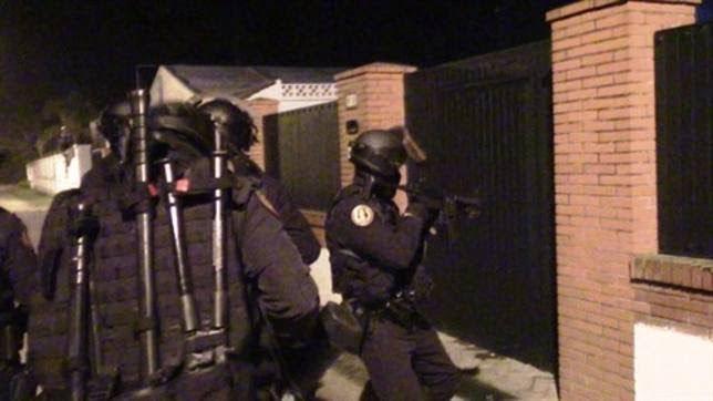 La Guardia Civil da un fuerte golpe a la red de narcos que operaba en Huelva.
