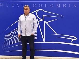 Carlos Pouso, entrenador del Recreativo de Huelva.