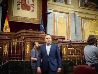 Carlos Hermoso pasó por el Congreso de los Diputados nada más que unos meses.