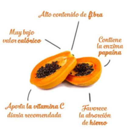 beneficios nutricionales papaya