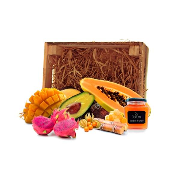 surtido de fruta tropical