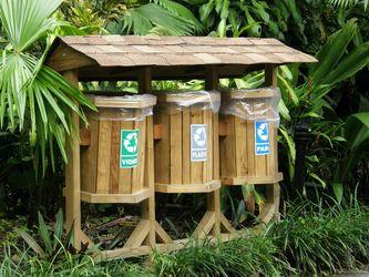basuras de reciclaje originales
