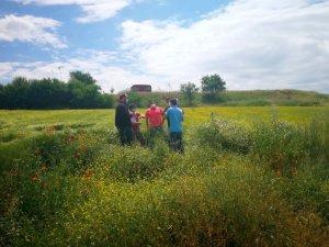 Visita replanteo nuevo sondeo en La Langa