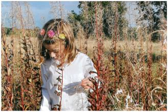 2. Hiding among the weeds