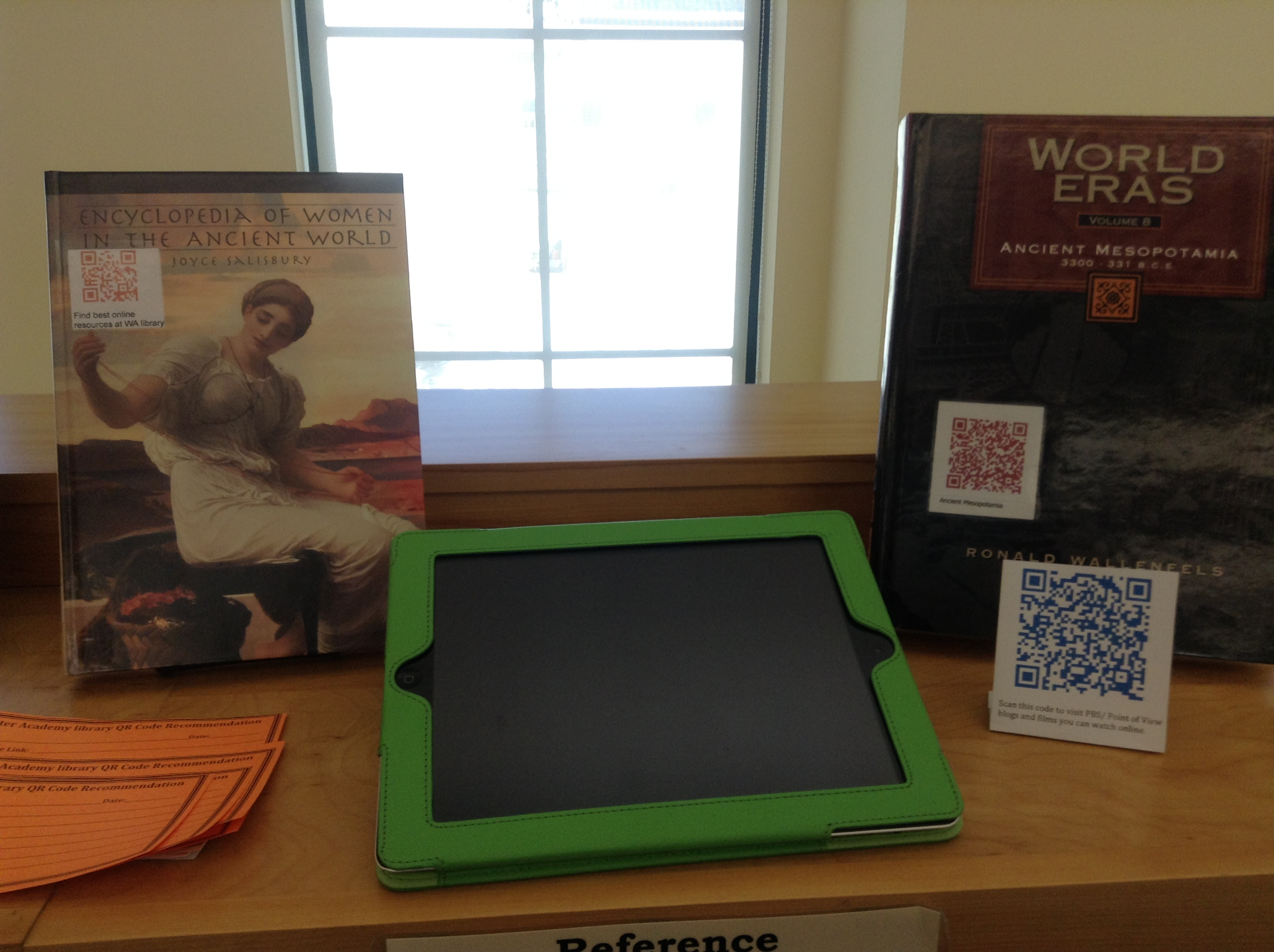 Digital Learning Day At The Worcester Academy Library