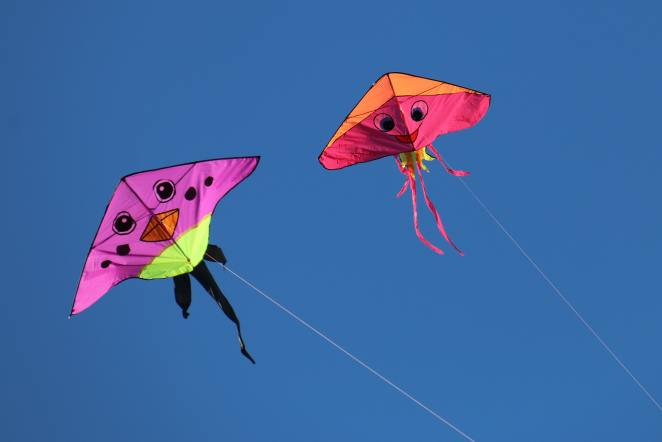 One Fun Outdoor Activity for Kids is flying with a Kite