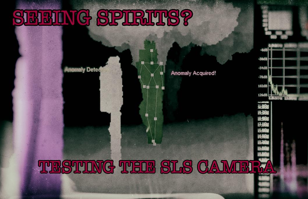 Seeing Spirits Testing The Digital Dowsing Sls Camera