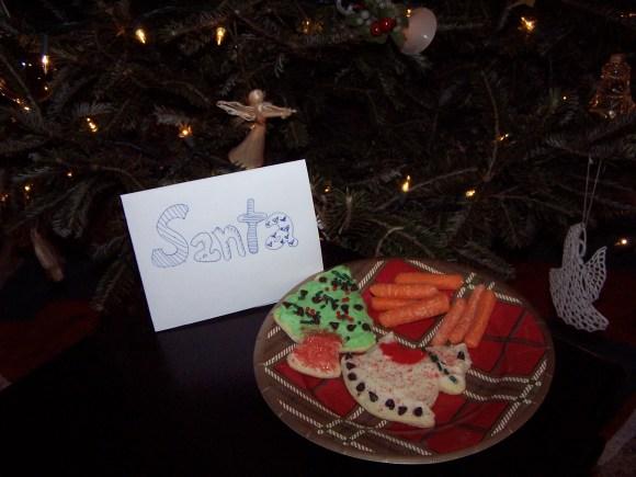Santa's cookies, https://huffygirl.wordpress.com, © Huffygirl 2011