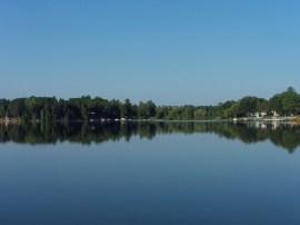 Summer lake trip.