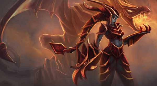 league of legends Build e runas para Shyvana