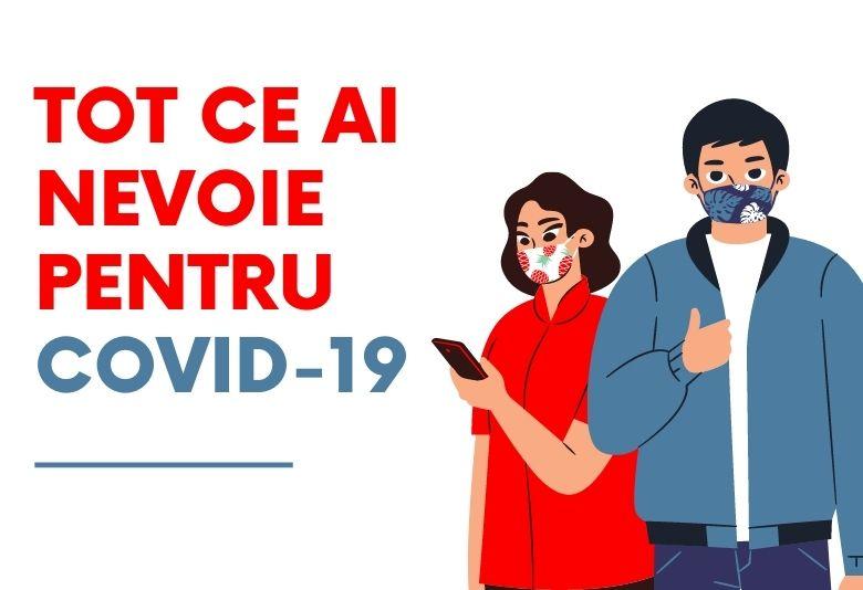 TOt ce ai nevoie pentru COVID-19