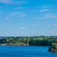 Windmills near lake Saimaa, Teemu leinonen, Finland