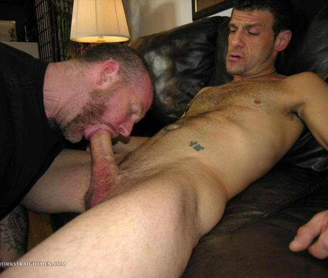 Straight Guy Getting A Bj Of His Gay Pal