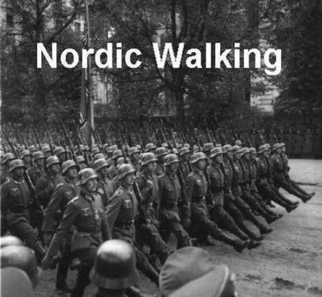 Nordic Walking No Offence Germans
